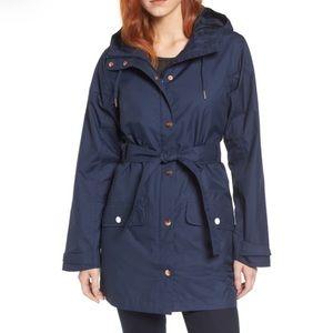 NWT Helly Hansen Lyness Navy Rain Jacket - Size XS